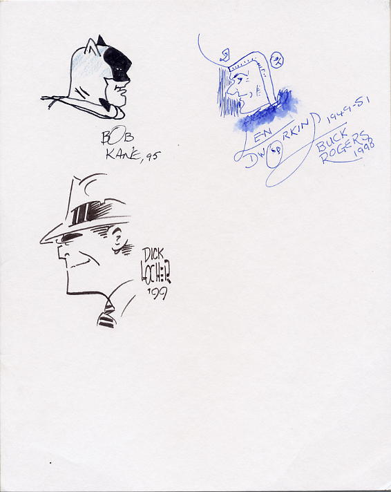 Batman, Dick Tracy & Buck Rogers