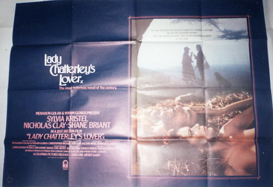 Lady Chatterly's Lover - 1981 - Quad Poster - Sylvia Kristel