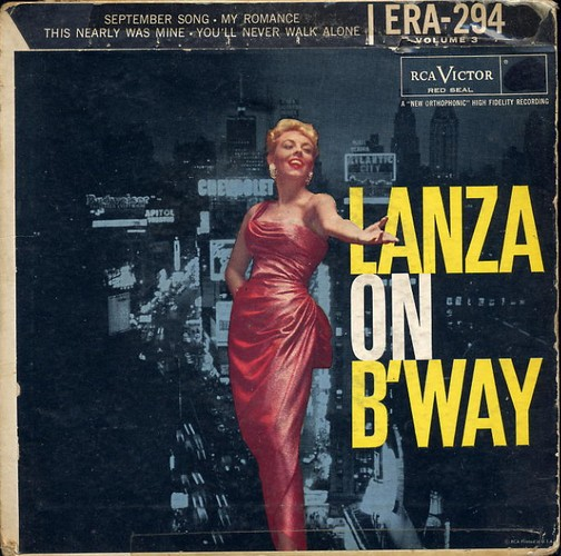 Lanza, Mario - Lanza On Broadway Vol 3 - EP