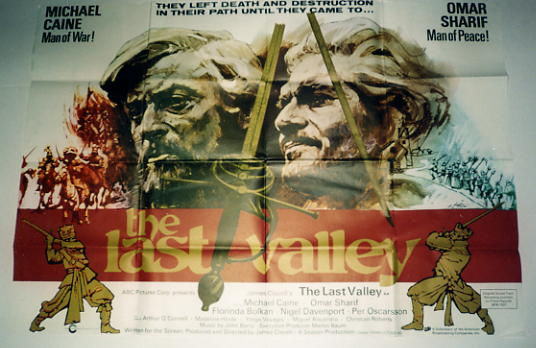 Last Valley, The - 1971 - Quad - Michael Caine, Omar Sharif