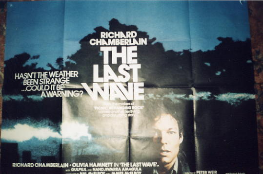 Last Wave, The - 1977 - Quad - Richard Chamberlain