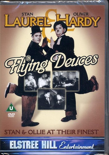 Laurel & Hardy - Flying Dueces <b> SOLD </b>