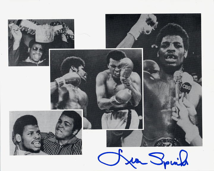 Spinks, Leon - signed photo