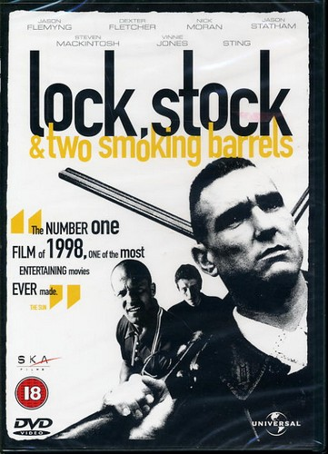 Lock Stock & Two Smoking Barrels - The No 1 Film of 1998 - DVD