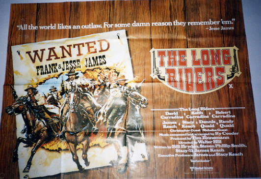 Long Riders, The - 1980 - Quad
