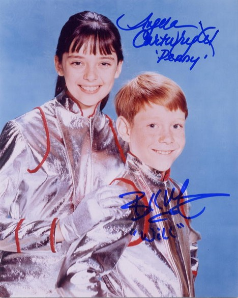 Lost In Space (1965-68) - Bill Mumy and Penny Robinson