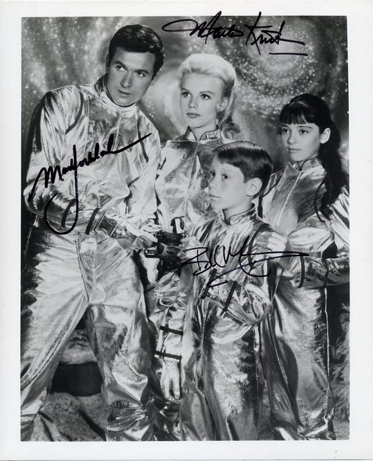 Lost In Space - signed by Goddard, Kristen & Mumy