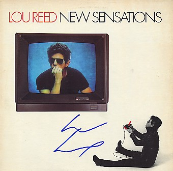 Reed, Lou - LP signed IN Person