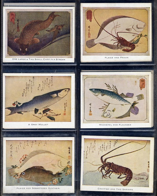Mac Fisheries - Japanese Colour Prints 1924