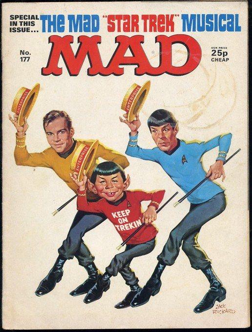 Mad #177 - Star Trek special