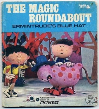 The Magic Roundabout - Ermintrudes Blue Hat - Authorised Edition