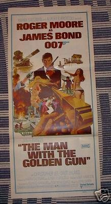Man With The Golden Gun - Bond 007 - Daybill movie poster