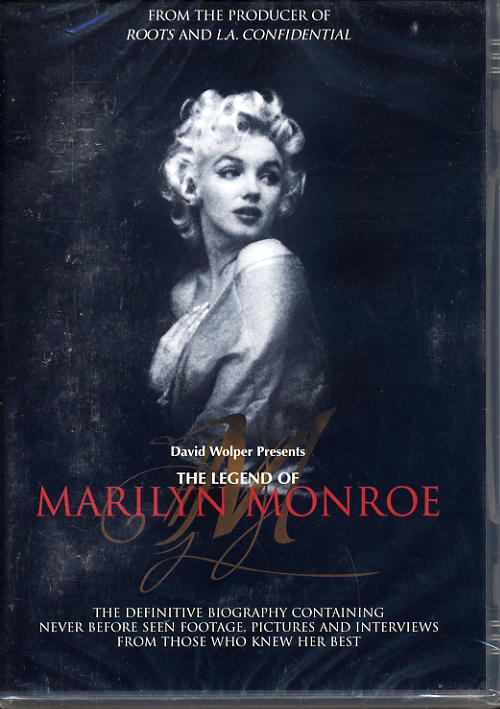 Marilyn Monroe, The Lengend Of - Difinitive Biography - DVD