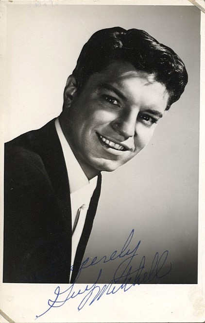 Mitchell, Guy signed photo