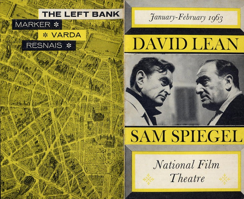 National Film Theatre Programme 1963 Jan-Feb D. Lean & S Spiegel