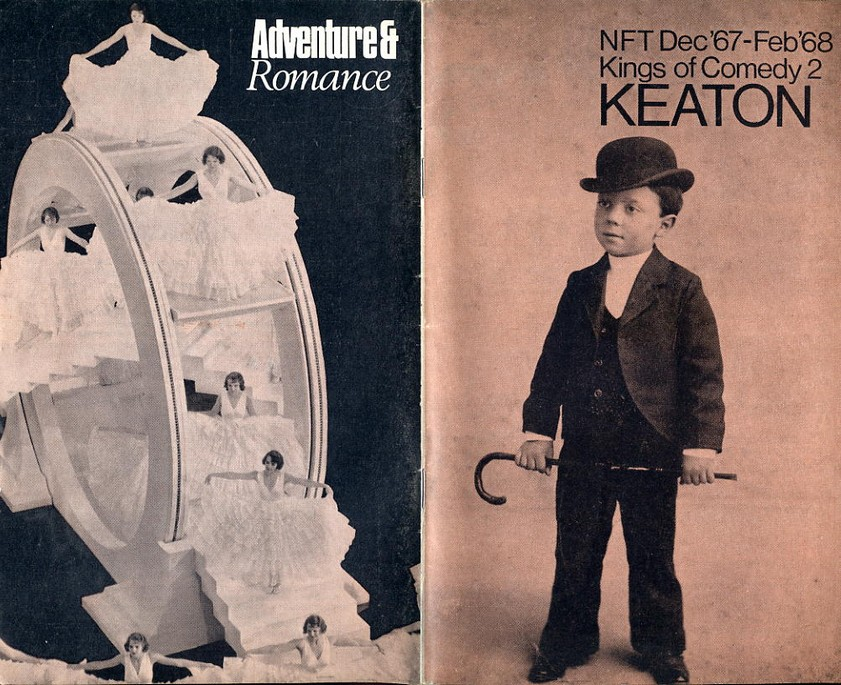 National Film Theatre Programme 1967 Dec - Feb 68 Keaton & Atten