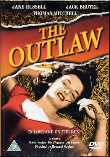 Outlaw, The - DVD - Jane Russell, In Love and on the run