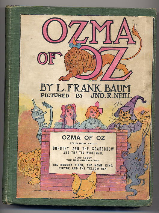 Baum, Frank L. - Ozma of Oz - 1907 <b>SOLD</b>