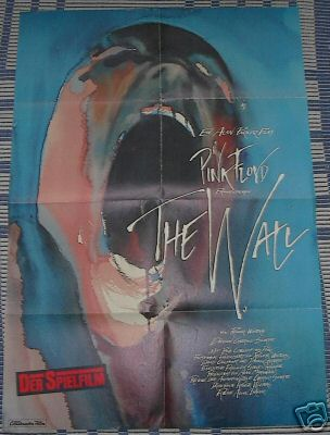 PINK FLOYD - The Wall - German movie poster