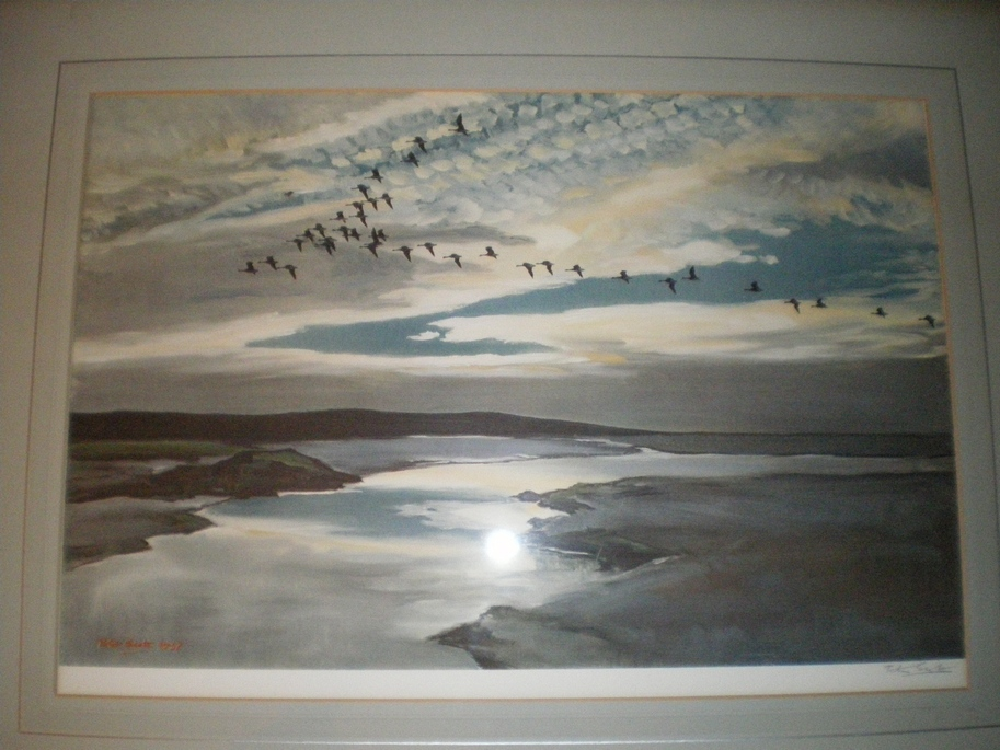 Scott, Peter - Signed framed lithograph <b>SOLD</b>