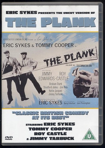 Plank, The - Eric Sykes, Tommy Cooper - Classic Comedy DVD