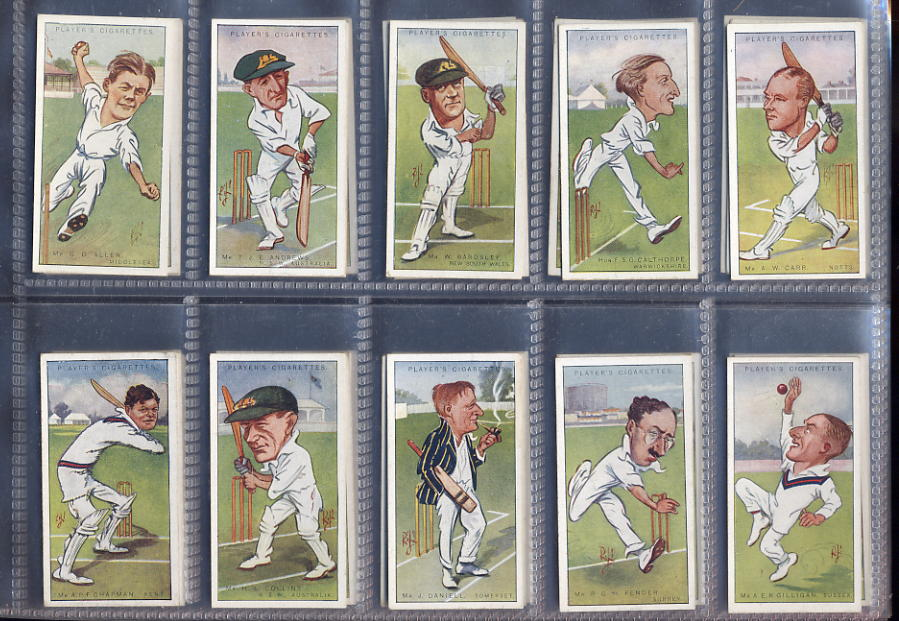 Players - Cricketers Caricatures by Rip 1926