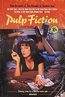 Pulp Fiction 1994 Adv - Rare