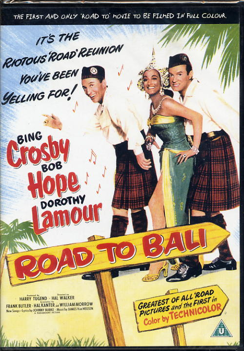 Road To Bali - Crosby, Hope, Lamour - DVD