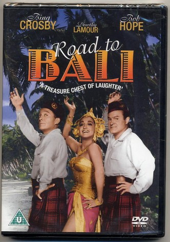 Road To Bali DVD Bing Crosby Dorothy Lamour & Bob Hope