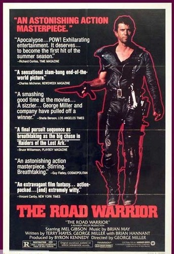 Road Warrior (Mad Max 2) - Mel Gibson - Movie Poster