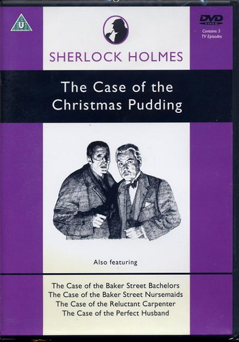 Sherlock Holmes - The Case of the Christmas Pudding - DVD