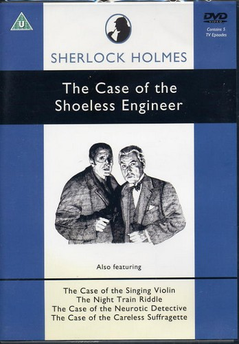 Sherlock Holmes - The Case of the Shoeless Engineer - DVD