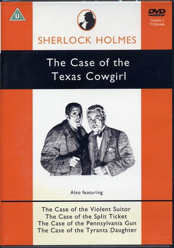Sherlock Holmes - The Case of the Texas Cowgirl - DVD