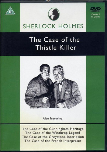 Sherlock Holmes - The Case of the Thistle Killer - DVD