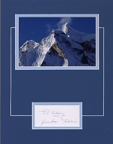 Hillary, Sir Edmund & Junko Tabei - Mt. Everest Exploration