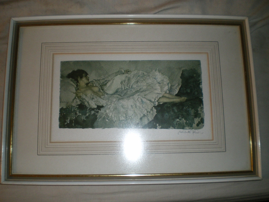 Flint, Sir William Russell - Signed Lithograph