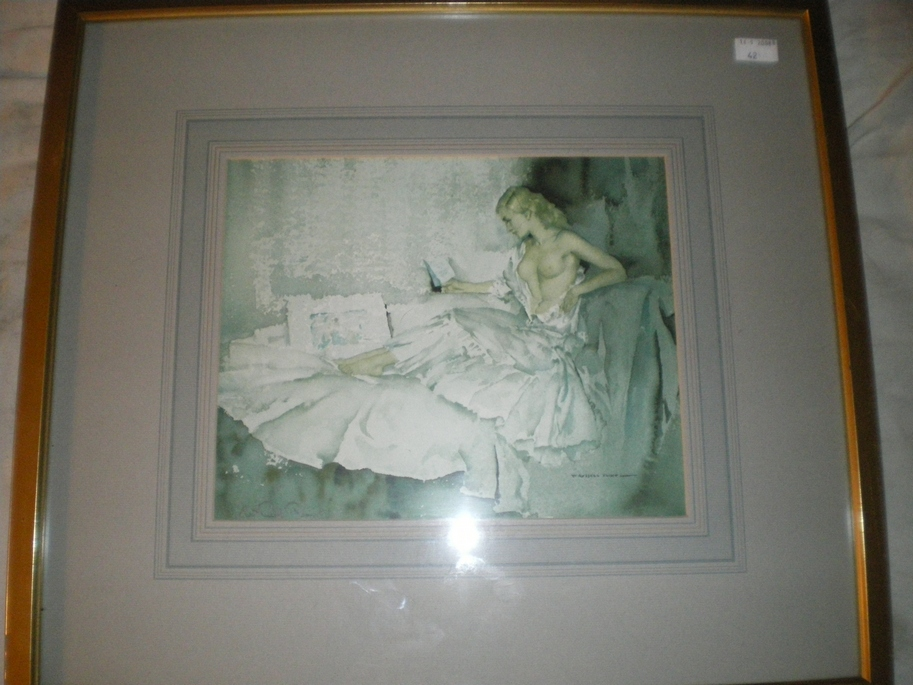 Flint, Sir William Russell - Signed framed print