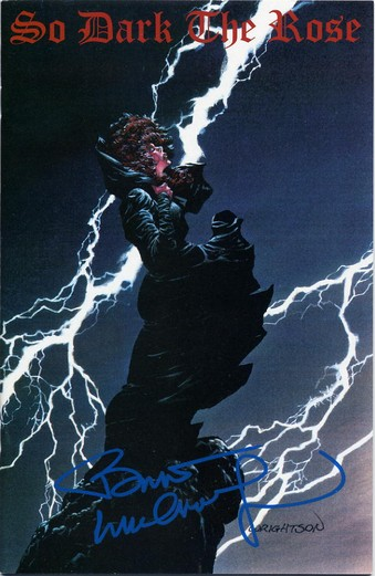 So Dark The Rose - Signed by Bernie Wrightson