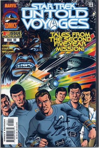 Star Trek - Untold Voyages #1 - Signed by Glenn Greenberg