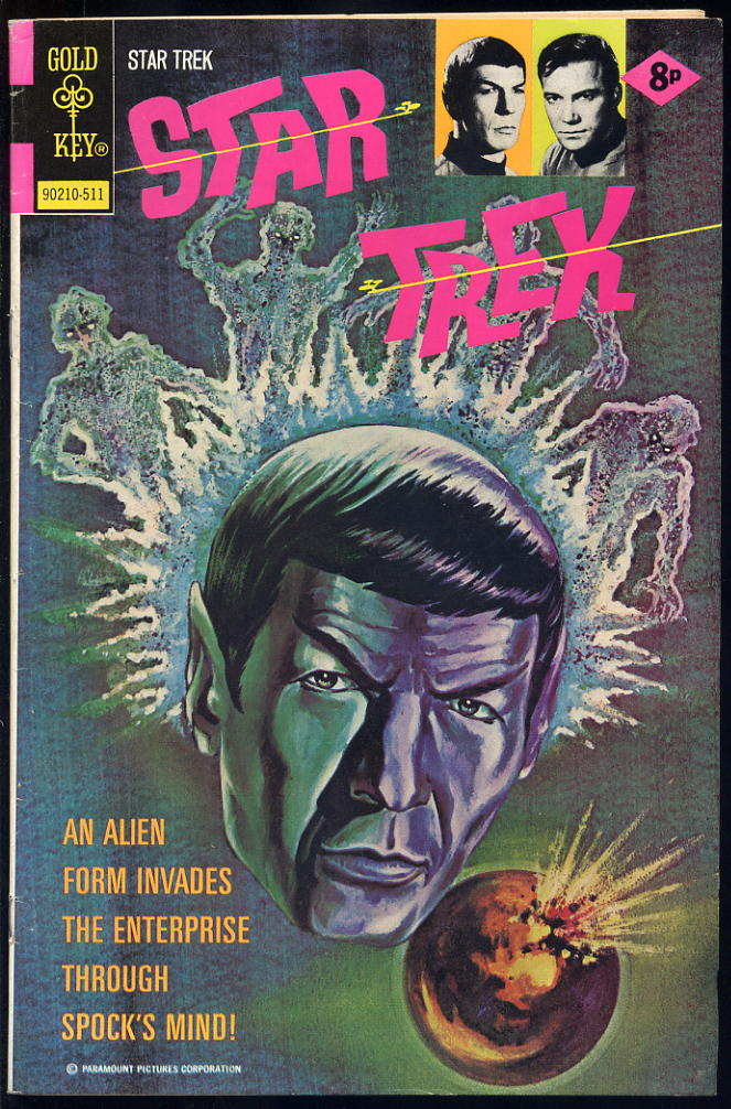 Star Trek #35 VF+/NM