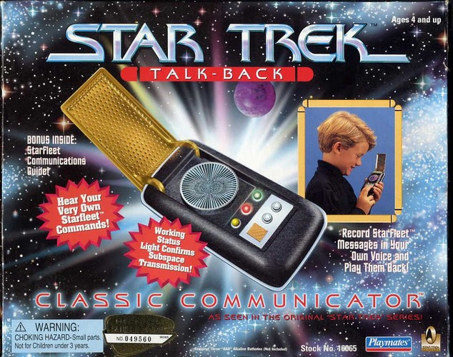 Star Trek Classic Communicator - Boxed