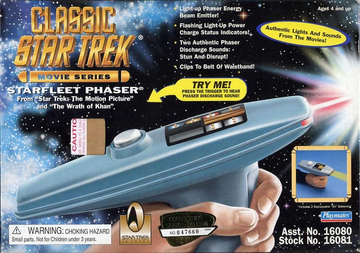 Star Trek Starfleet Phaser - Boxed