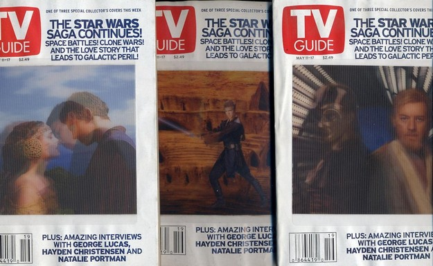 Star Wars - TV Guide Variant 3D covers