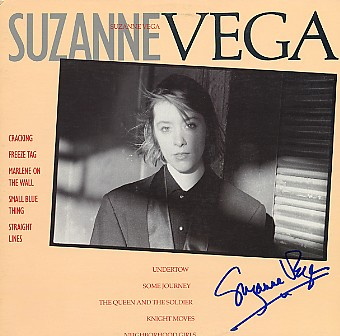 Vega, Suzanne - LP signed In Person
