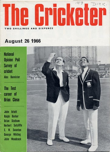 The Cricketer. Vol.47, No.13. Aug 1966