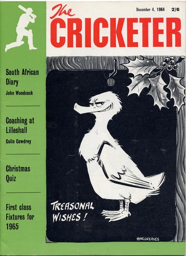 The Cricketer. Vol.45, No.17. Dec 1964