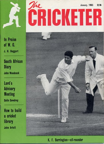 The Cricketer. Vol.46, No.1-15. Jan 1965-Oct 1965