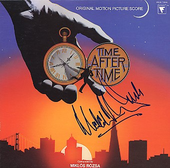 Time After Time - LP signed In Person Malcolm McDowell