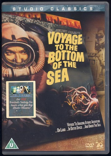 Voyage To The Bottom Of The Sea - DVD Studio Classic