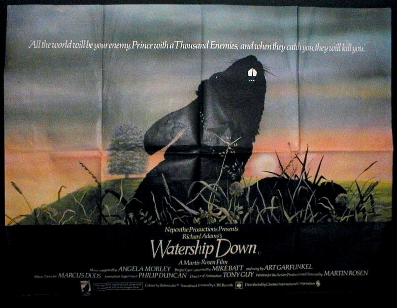 Watership Down - Movie Poster